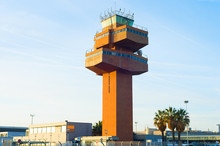 Control Tower Airport. Barcelo...
