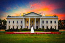 US White House Front View At S...