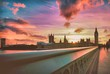 View Of Big Ben At Sunset