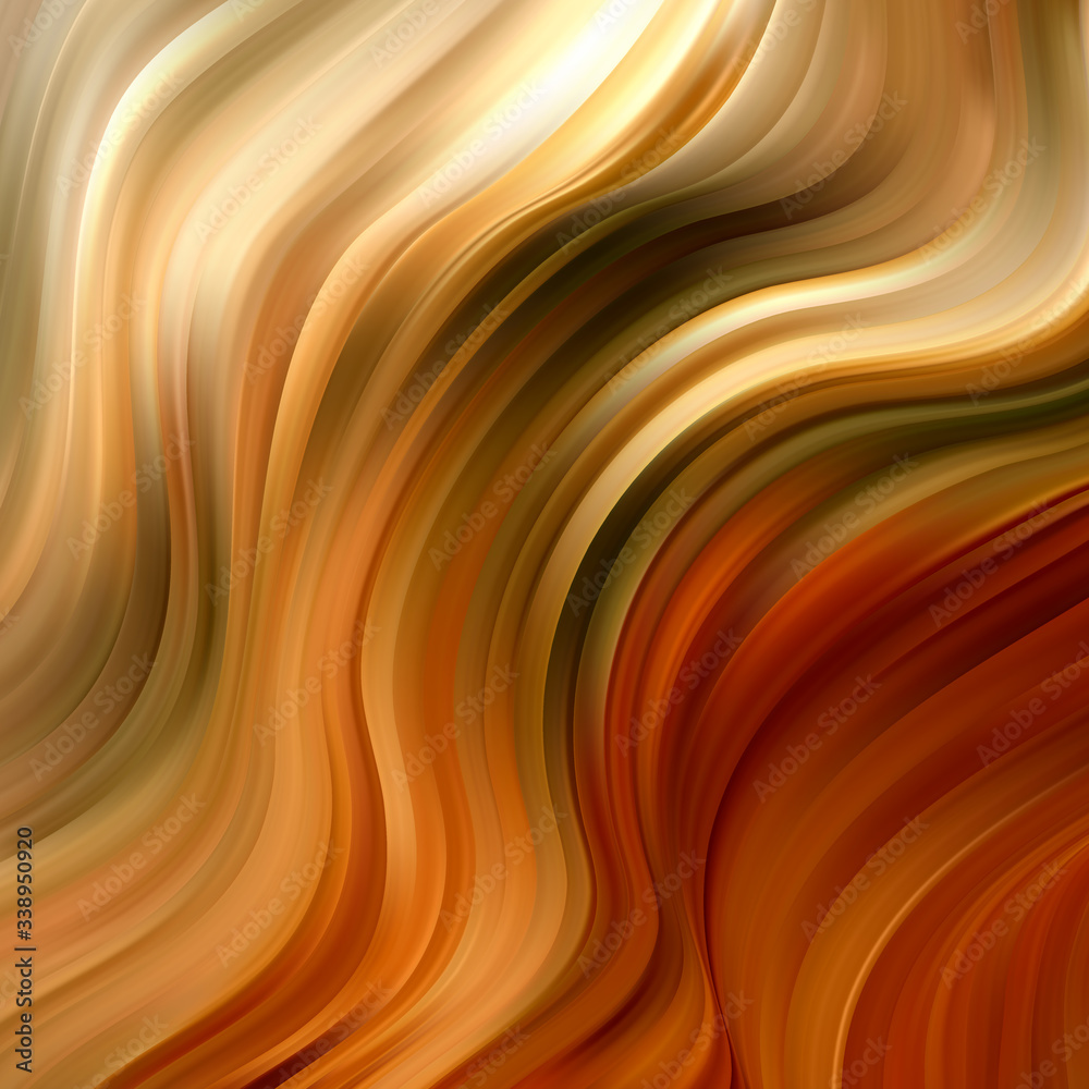 Fototapeta Abstract marble background. Colorful paint fluid wawes