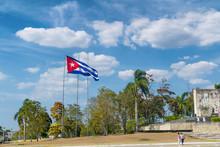 Plaza De Revolucion And Che Guevara Monument In Santa Clara, Cuba.