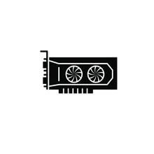 VGA Card Icon Template