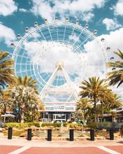 Ferris Wheel In The City