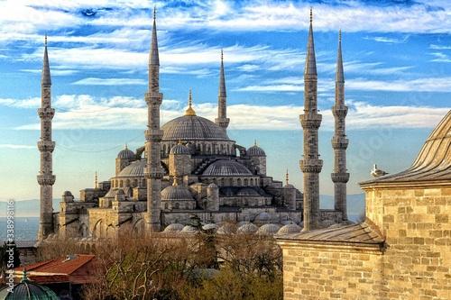 Fototapeta Scenic View Of Hagia Sophia Against Sky obraz