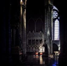Ornate Gothic-style Church Interior
