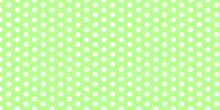 Green Polka Dots Pattern