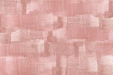 Pink Paint On A Canvas