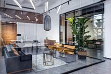 Interior Meeting Room In Modern Space Office