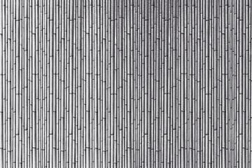 Silver bamboo curtain