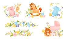 Baby Attributes And Toys With ...