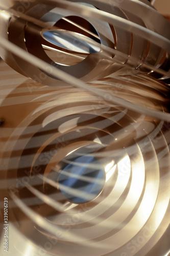 Foto digitali astrattte elaborate anche in post produzione, interiori, oniriche Canvas Print