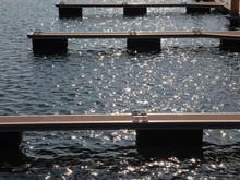 Hafenblicke Am Neuen See In Der Lausitz