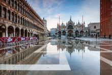 St Mark's Square Flooded By Hi...