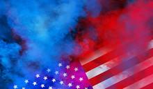 Flag USA Background Design For...