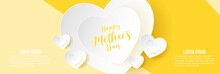 Happy Mother Day Banner Design...