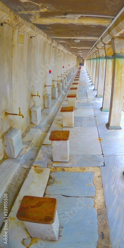 Photo Empty Ablution Area In Mosque