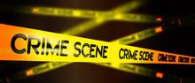 Crime Scene Do Not Cross Tape...
