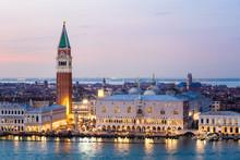 Venice Town Skyline Illuminate...