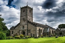 Lawn In St Marys Church Agains...