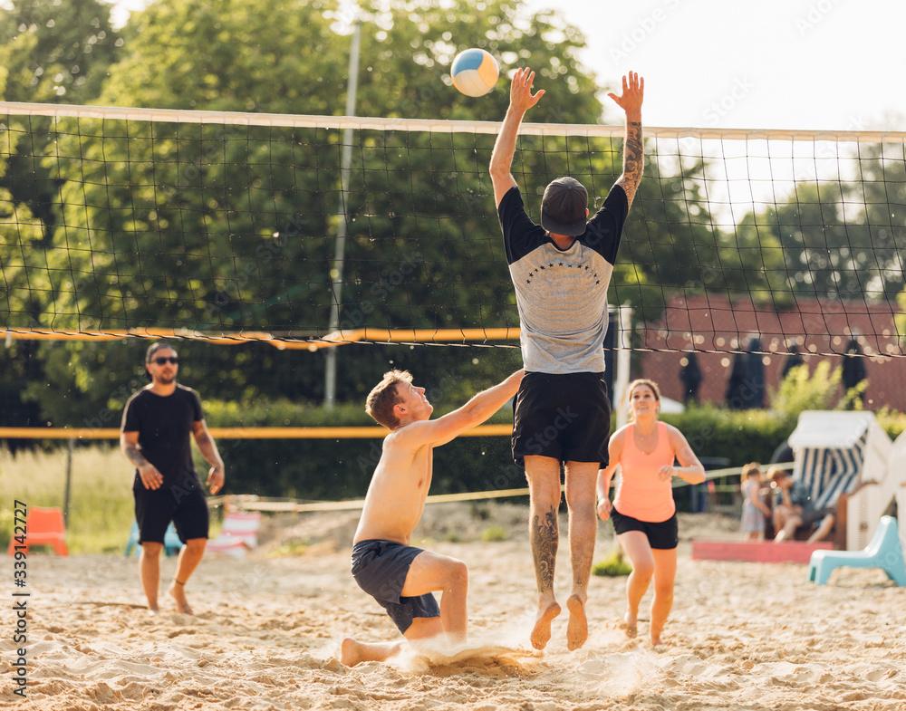 Fototapeta Beachvolleyball