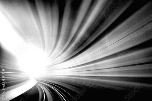 Obraz na płótnie Light At The End Of The Tunnel