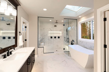 Luxury Modern Home Bathroom In...