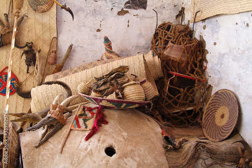Fototapeta  Souvenirs from animals in the Nubian village obraz