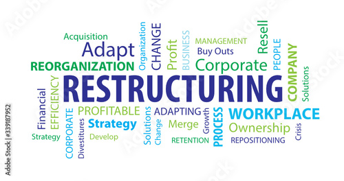 Photo Restructuring Word  Cloud