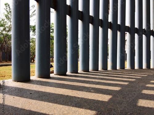 Tablou Canvas Colonnade On Building