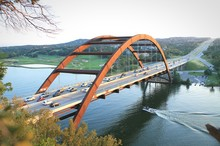 Pennybacker Bridge Over Colorado River