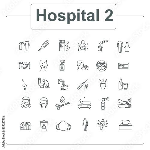 Hospital Canvas Print