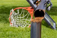 Outdoor Basketball Hoop With I...