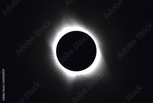Zaćmienie Słońca USA 2017 Billede på lærred