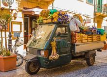 Mobile Shop Of A Greengrocer I...