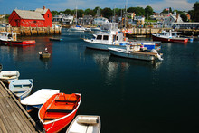 Dinghies And Lobster Boats Pop...