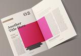 Lifestyle Magazine Layout - 339309520