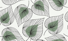 Seamless Floral Pattern.  Vect...