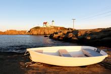 Cape Neddick Lighthouse At Sun...