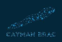 Cayman Brac Network Map. Abstr...