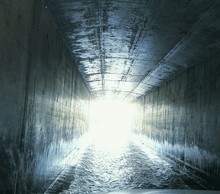 Water In Tunnel
