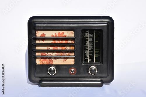 Radio, Rundfunk, Museum, Eumig, 1937, 1938, 329W, Eumig 329W, Zwischenkriegszeit Canvas-taulu