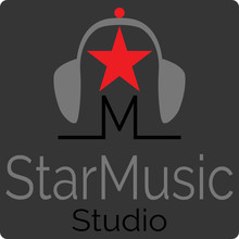 Music Studio Logo With The Sym...