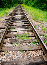 Railroad Tracks Are Reaching O...