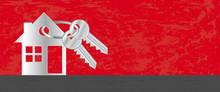 Real Estate. Vector Header Ban...