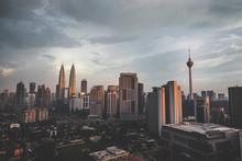 Kuala Lumpur Tower And Petrona...