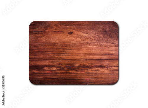 Photo Old wood board texture isolated on white background with copy space for design or work