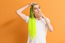 Portrait Of Young Transgender ...