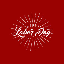 Labor Day Card Design Vector I...
