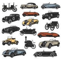 Antique And Rarity Vintage Car...