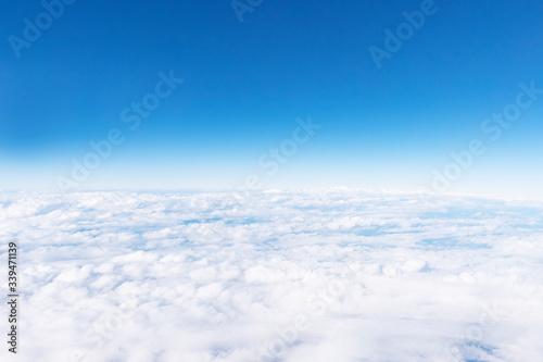 Fototapete - 雲の上の空